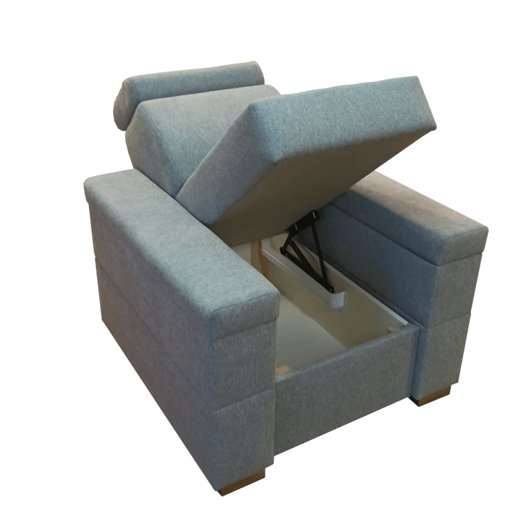 Fotel BARTEK - boki otwierane
