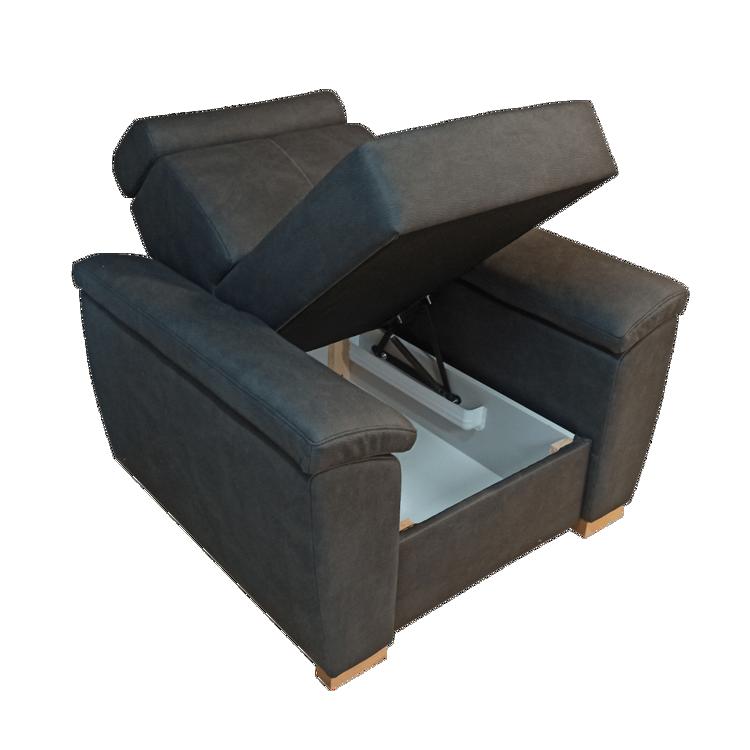 Fotel BARTEK - boki profilowane