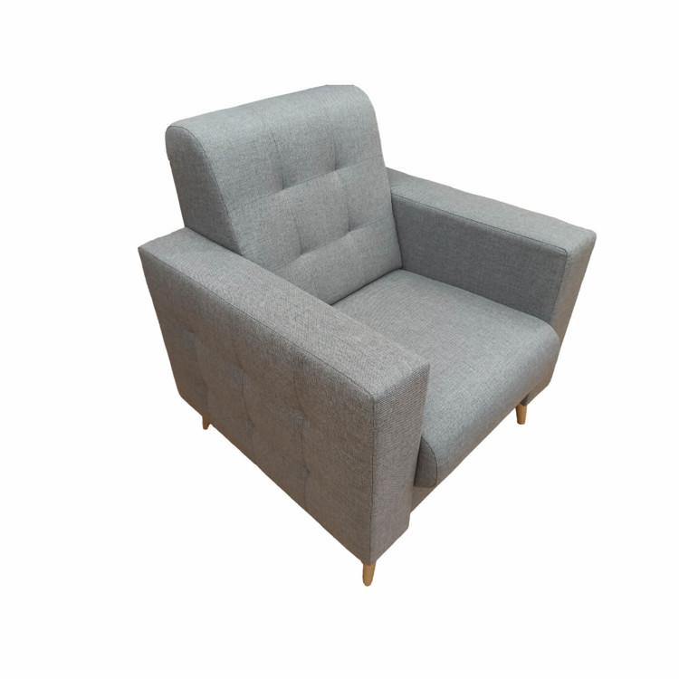 Bok fotel szymon do salonu